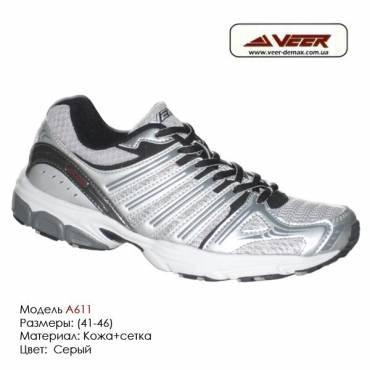 Кроссовки Veer сетка - a611 - серые