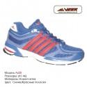 Кроссовки Veer сетка - a620 - синие|красные полоски. Купить кроссовки в Одессе.