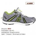Кроссовки Veer сетка - 3895 серые | зеленые вставки. Купить кроссовки в Одессе.