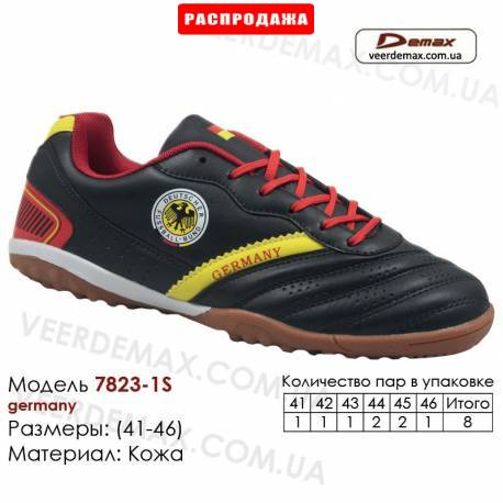Кроссовки футбольные Demax сороконожки 41-46 кожа - 7823-1S Германия. Купить кроссовки в Одессе.