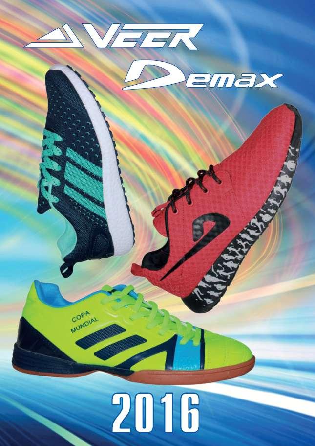 Коллекция спортивной обуви 2016. Veer и Demax. Весна - Лето.